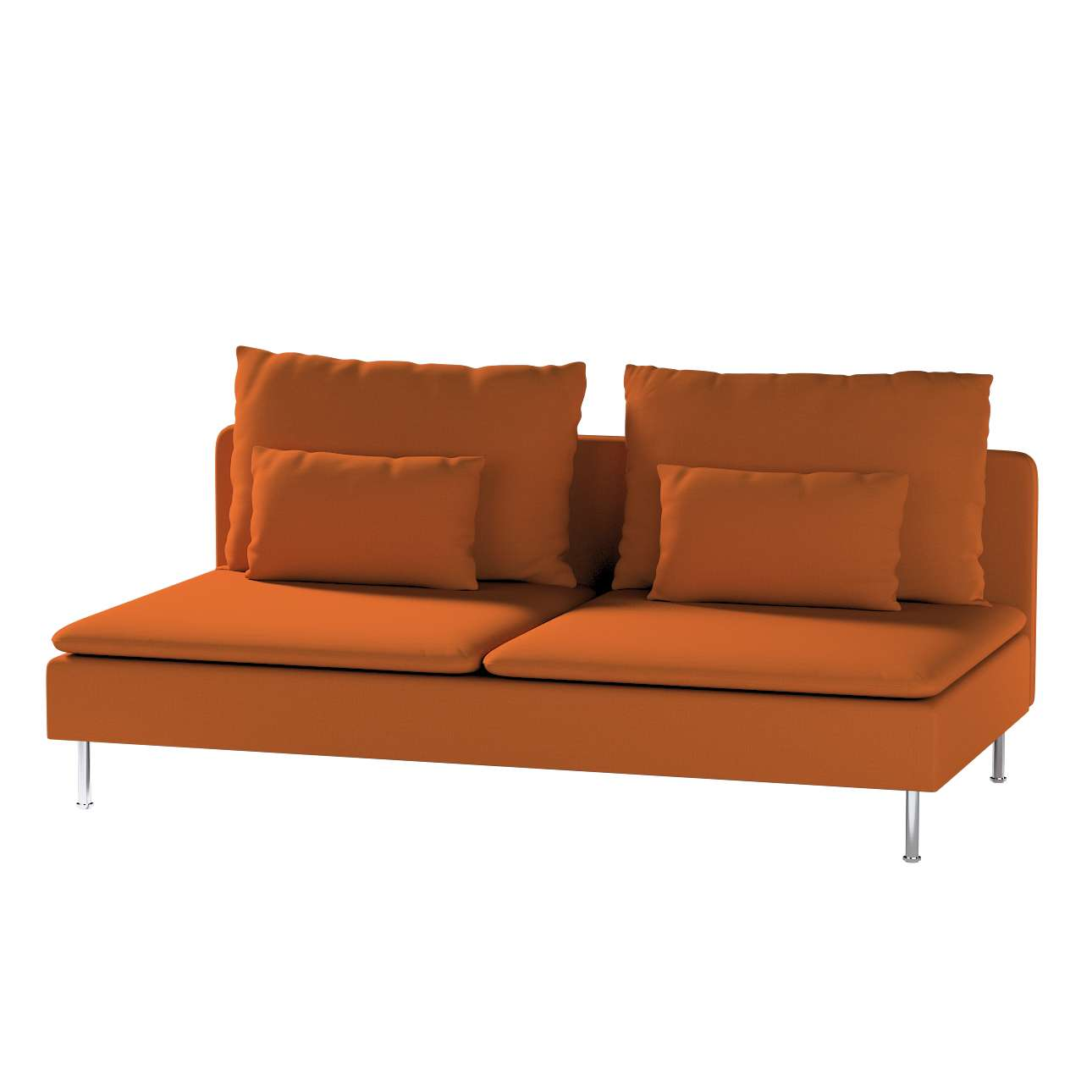 Bezug für Söderhamn Sitzelement 3 von der Kollektion Cotton Panama, Stoff: 702-42