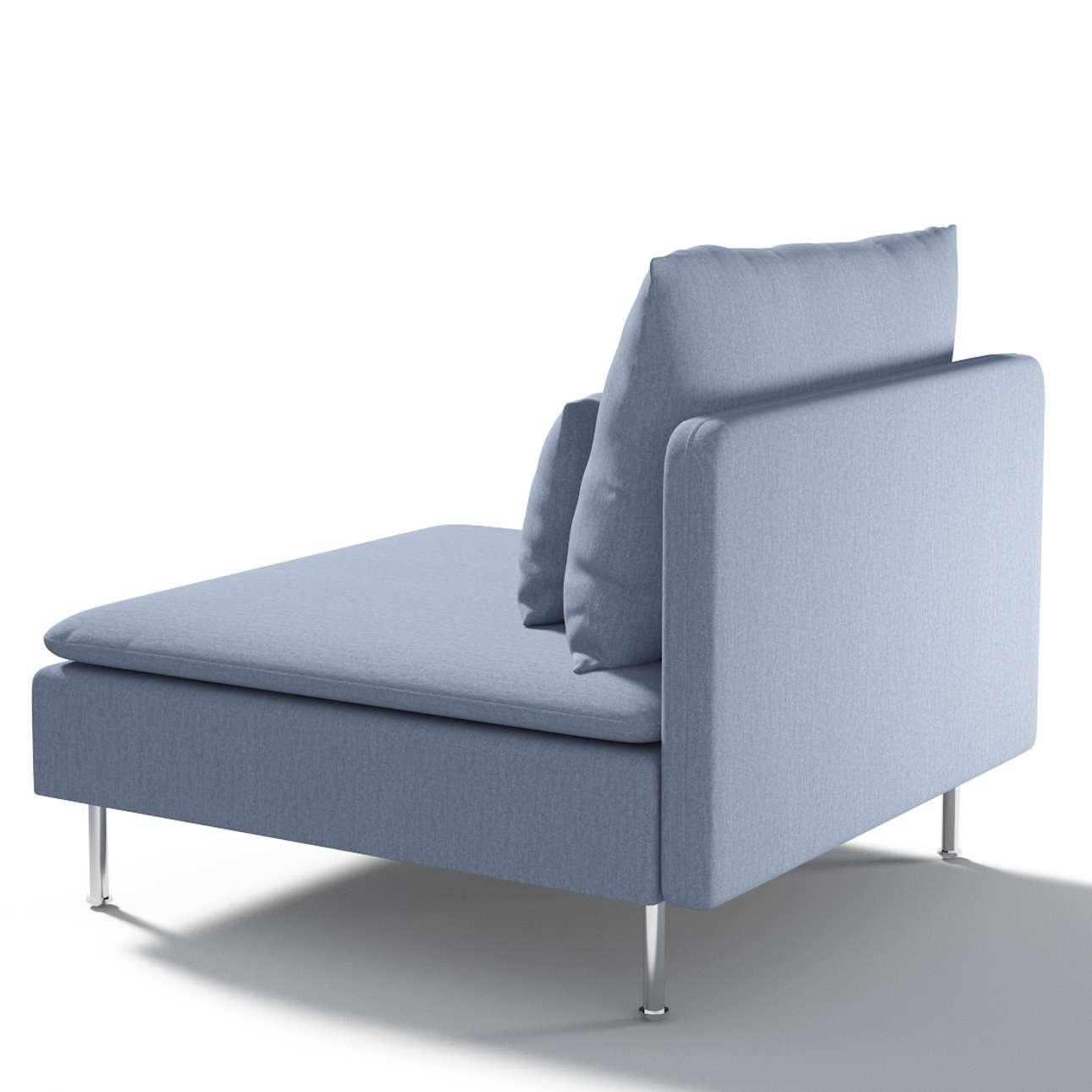 Užvalkalas Ikea Söderhamn vienvietei daliai/ sofai moduł Söderhamn 1-osobowy kolekcijoje Chenille, audinys: 702-13