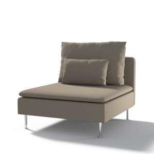 Užvalkalas Ikea Söderhamn vienvietei daliai/ sofai moduł Söderhamn 1-osobowy kolekcijoje Cotton Panama, audinys: 702-28