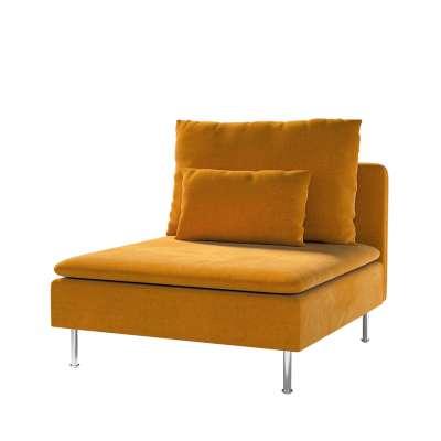 Bezug für Söderhamn Sitzelement 1 von der Kollektion Velvet, Stoff: 704-23