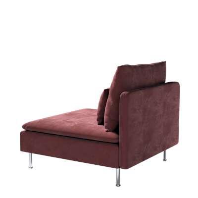 Bezug für Söderhamn Sitzelement 1 von der Kollektion Velvet, Stoff: 704-26