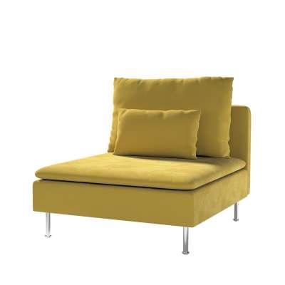 Bezug für Söderhamn Sitzelement 1 von der Kollektion Velvet, Stoff: 704-27