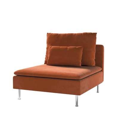 Bezug für Söderhamn Sitzelement 1 von der Kollektion Velvet, Stoff: 704-33