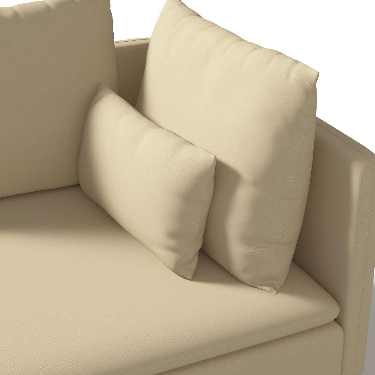 Bezug für Söderhamn Eckelement von der Kollektion Cotton Panama, Stoff: 702-01