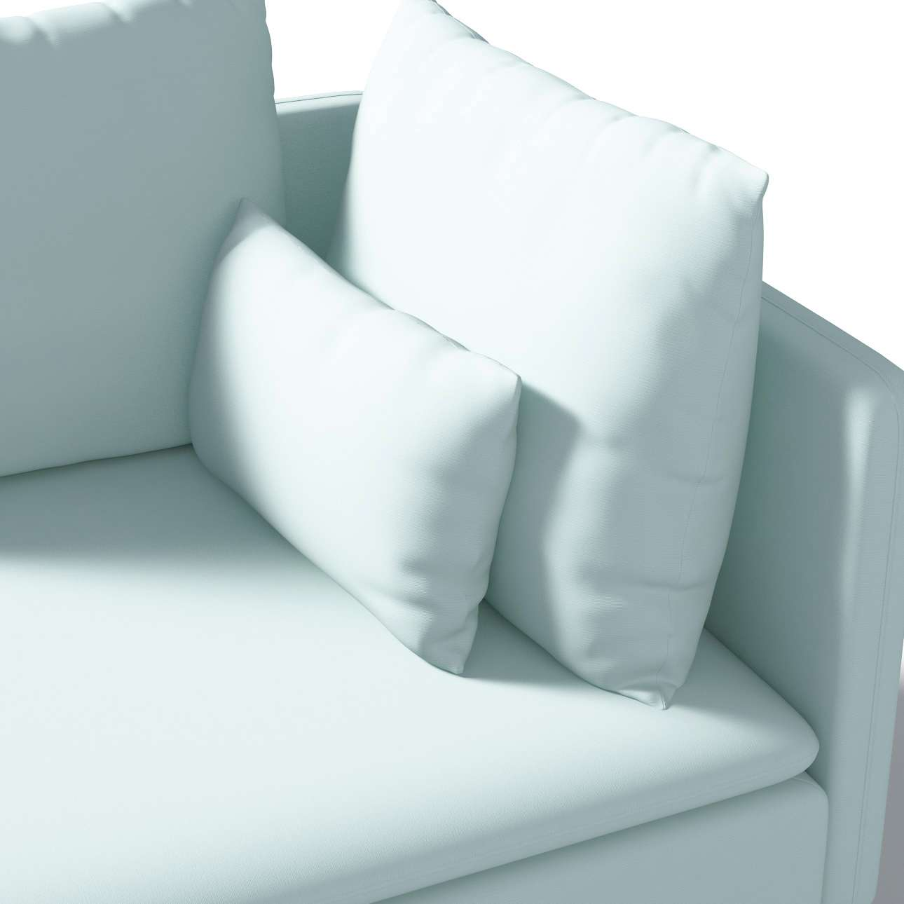 Bezug für Söderhamn Eckelement von der Kollektion Cotton Panama, Stoff: 702-10