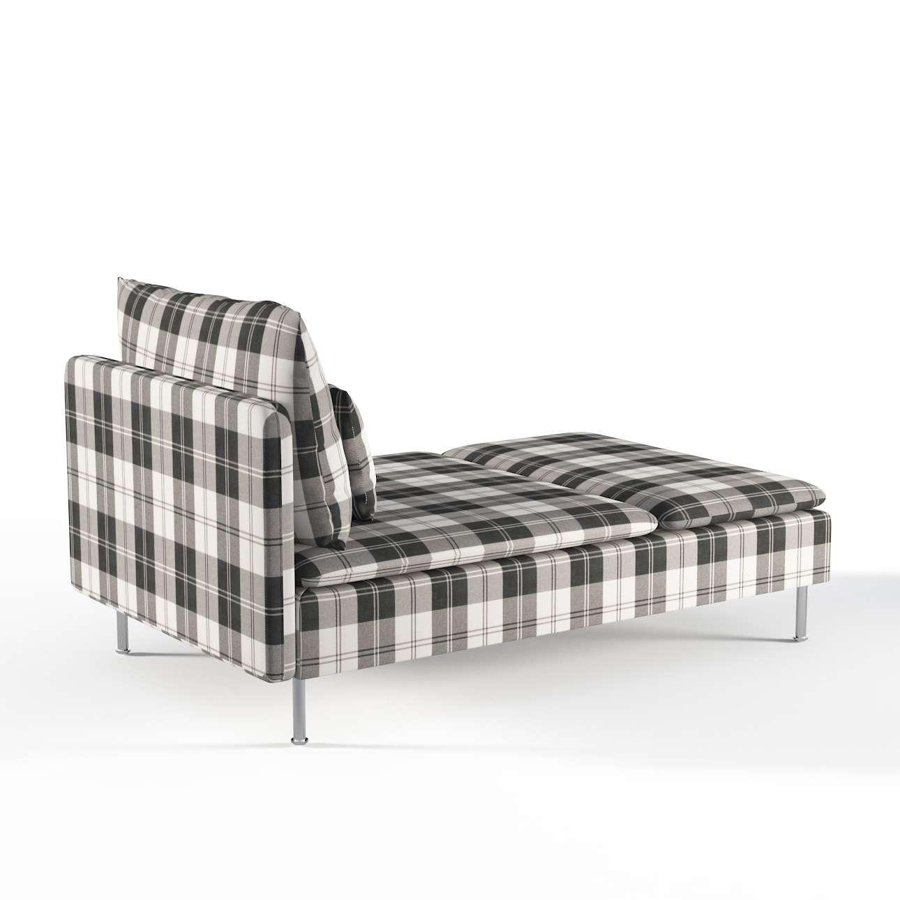 s derhamn bezug f r recamiere schwarz weiss dekoria. Black Bedroom Furniture Sets. Home Design Ideas