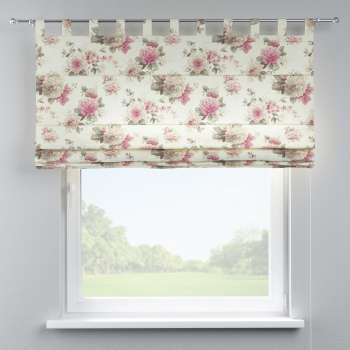 Verona tab top roman blind 80 x 170 cm (31.5 x 67 inch) in collection Mirella, fabric: 141-07