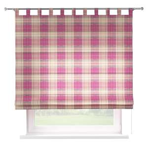 Verona tab top roman blind 80 x 170 cm (31.5 x 67 inch) in collection Mirella, fabric: 142-07