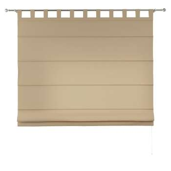 Verona tab top roman blind in collection Panama Cotton, fabric: 702-01