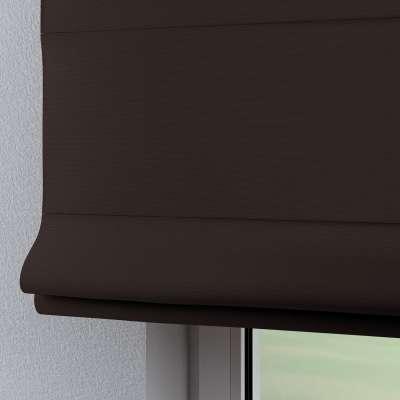 Foldegardin Verona<br/>Med stropper til gardinstang 702-03 Brun Kollektion Cotton Panama
