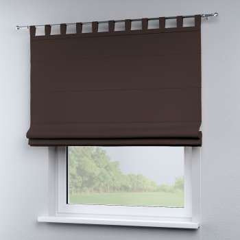 Verona tab top roman blind 80 × 170 cm (31.5 × 67 inch) in collection Panama Cotton, fabric: 702-03