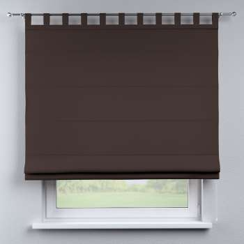 Verona tab top roman blind 80 x 170 cm (31.5 x 67 inch) in collection Panama Cotton, fabric: 702-03