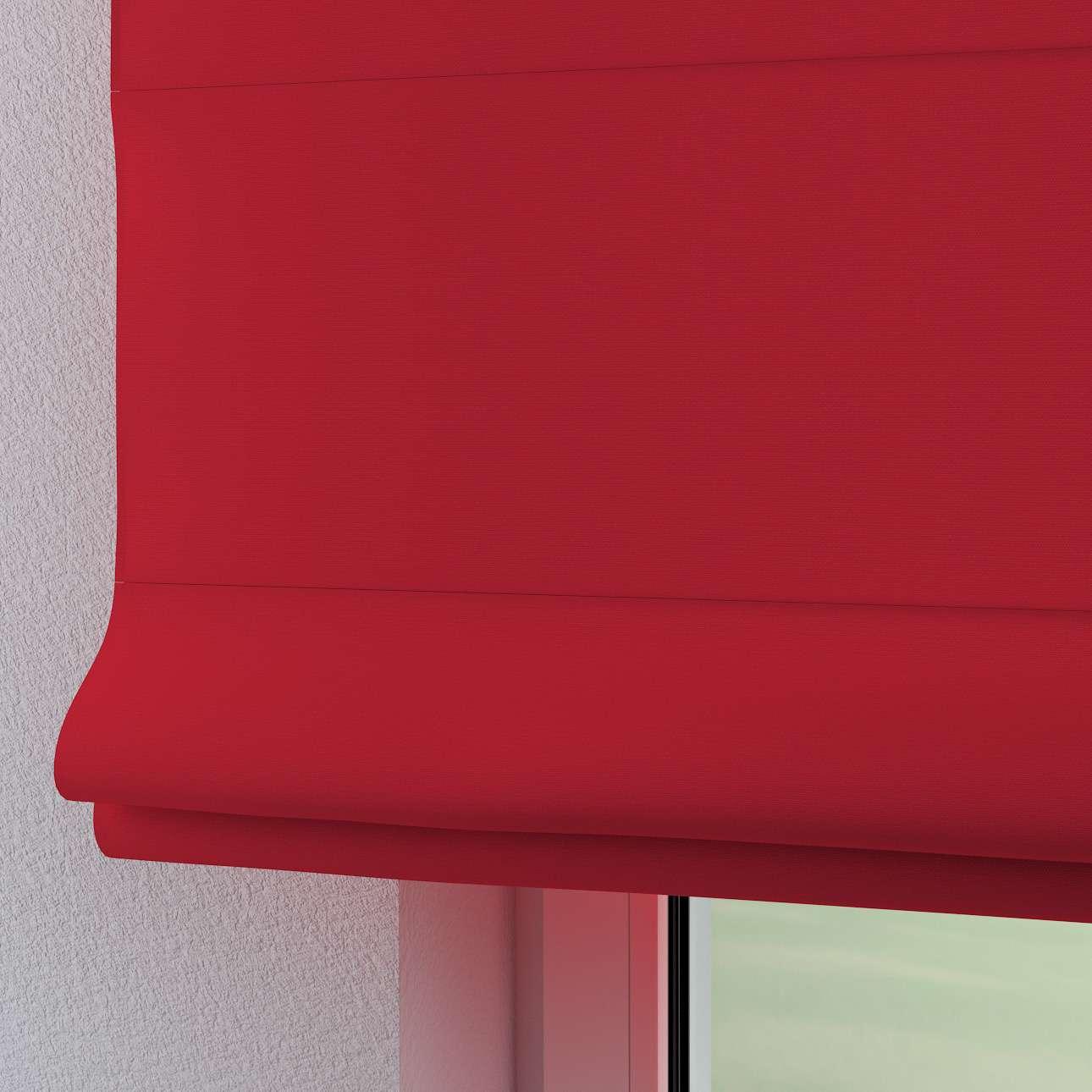 Verona tab top roman blind 80 x 170 cm (31.5 x 67 inch) in collection Cotton Panama, fabric: 702-04