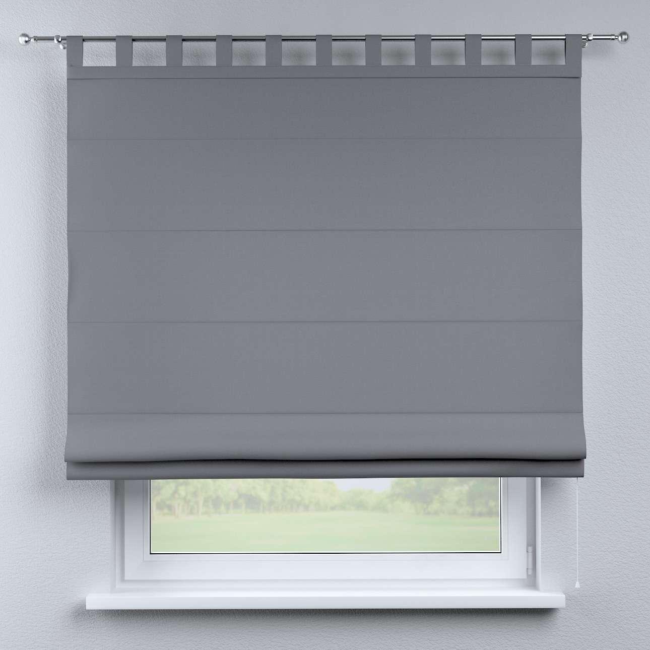 Foldegardin Verona<br/>Med stropper til gardinstang 80 x 170 cm fra kollektionen Cotton Panama, Stof: 702-07