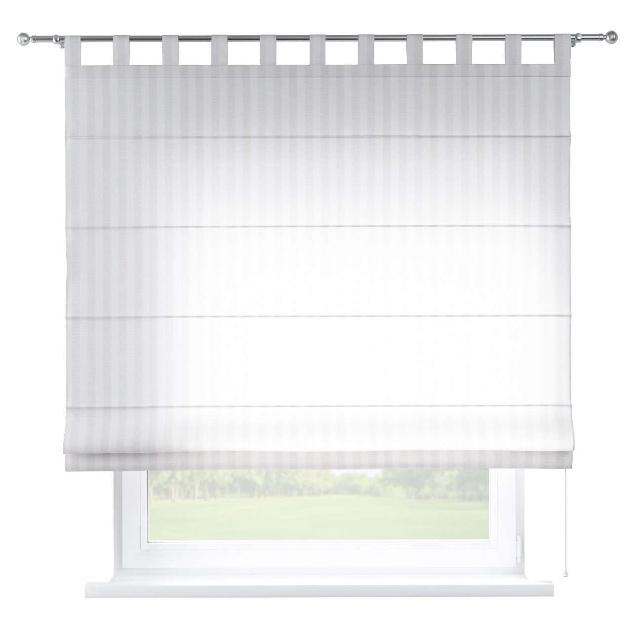 Raffrollo Verona, weiß, 100 × 170 cm, Leinen | Heimtextilien > Jalousien und Rollos > Raffrollos | Dekoria