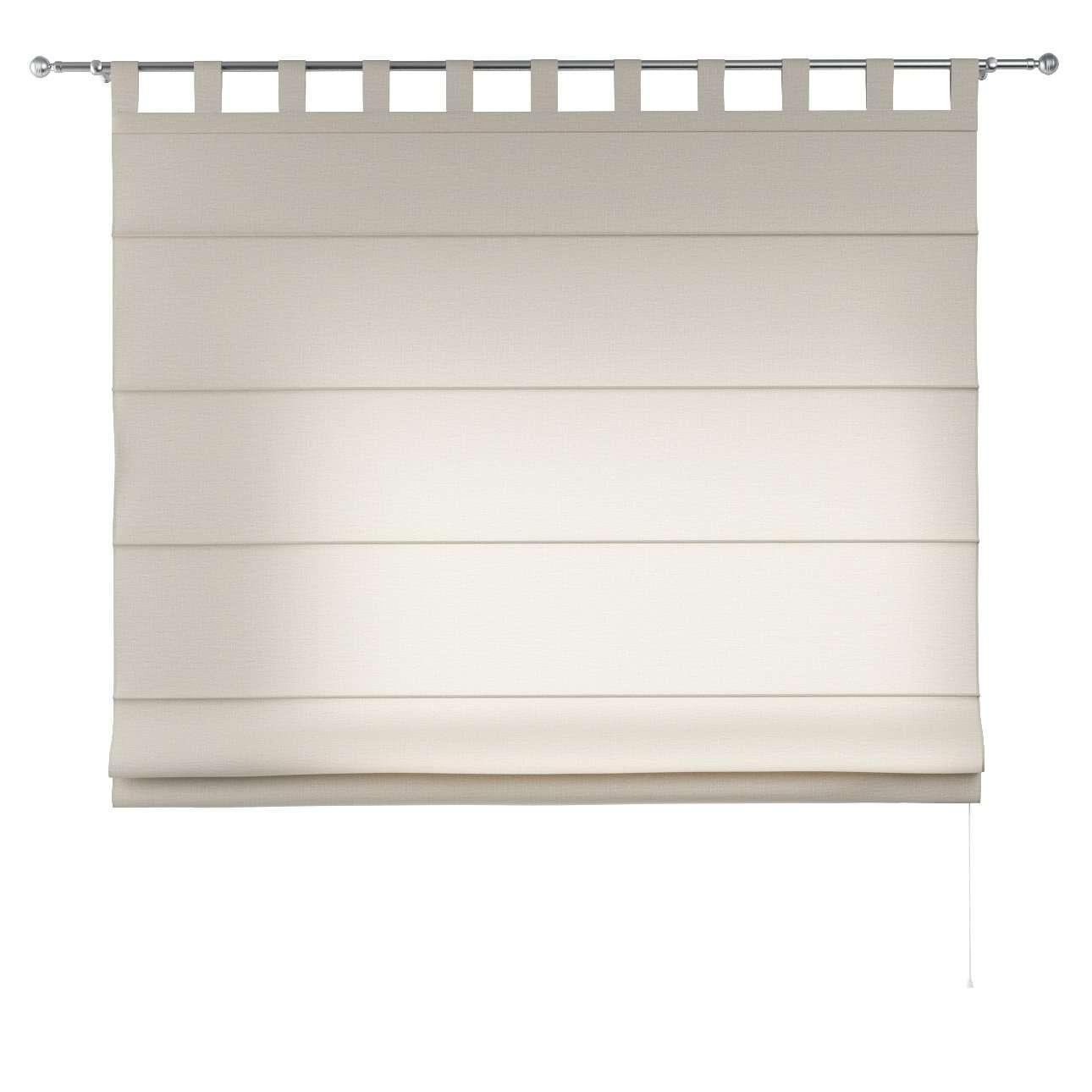 Foldegardin Verona<br/>Med stropper til gardinstang 80 x 170 cm fra kollektionen Linen, Stof: 392-05