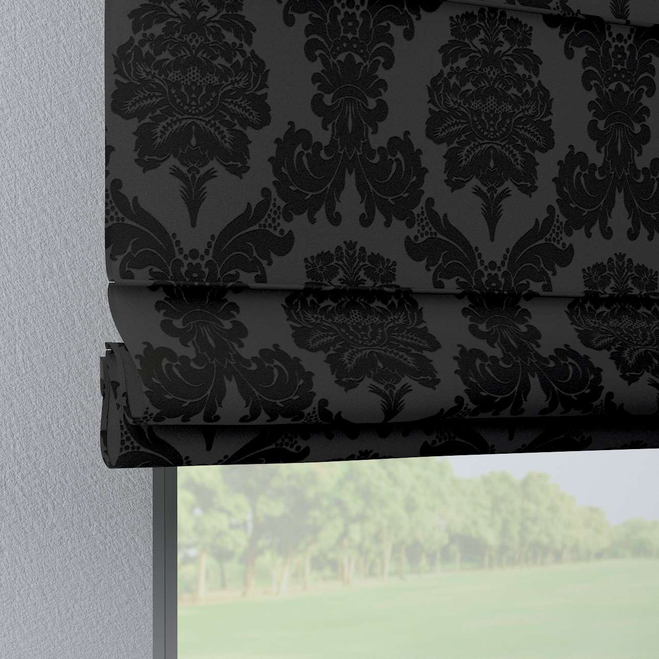 Foldegardin Verona<br/>Med stropper til gardinstang 80 x 170 cm fra kollektionen Damasco, Stof: 613-32