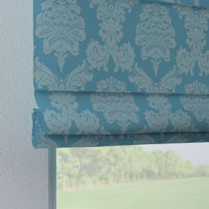 Verona tab top roman blind 80 x 170 cm (31.5 x 67 inch) in collection Damasco, fabric: 613-67