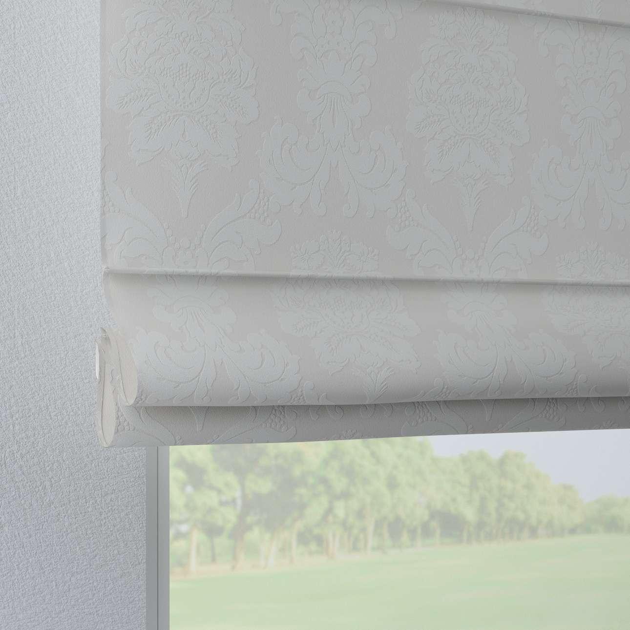 Verona tab top roman blind 80 x 170 cm (31.5 x 67 inch) in collection Damasco, fabric: 613-81