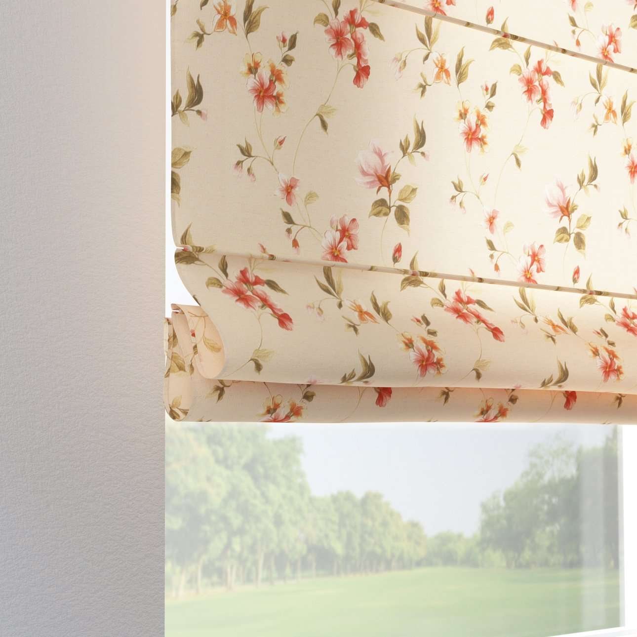 vouwgordijn Verona 80 x 170 cm van de collectie Londres , Stof: 124-05