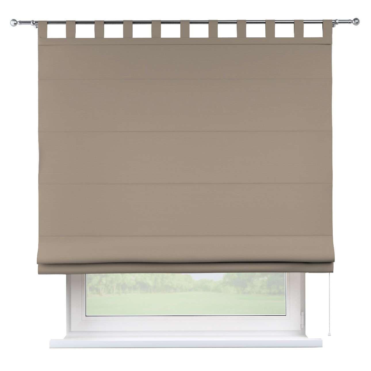 Foldegardin Verona<br/>Med stropper til gardinstang 80 x 170 cm fra kollektionen Cotton Panama, Stof: 702-28