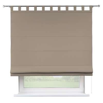 Foldegardin Verona<br/>Med stropper til gardinstang 702-28 Sandfarvet Kollektion Cotton Panama