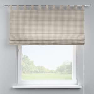 Verona tab top roman blind 80 x 170 cm (31.5 x 67 inch) in collection Quadro, fabric: 136-05