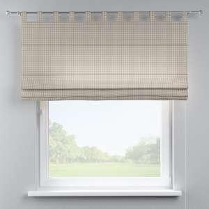 Verona tab top roman blind 80 x 170 cm (31.5 x 67 inch) in collection Quadro, fabric: 136-05