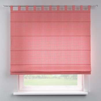 Verona tab top roman blind 80 x 170 cm (31.5 x 67 inch) in collection Quadro, fabric: 136-15
