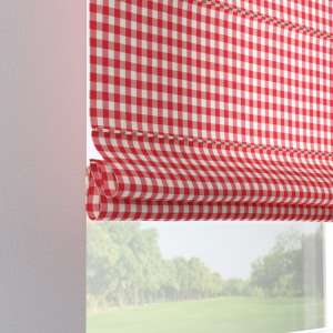Verona tab top roman blind 80 x 170 cm (31.5 x 67 inch) in collection Quadro, fabric: 136-16