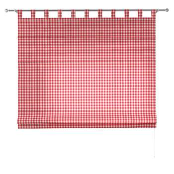 Verona tab top roman blind 80 x 170 cm (31.5 x 67 inch) in collection Quadro, fabric: 136-16