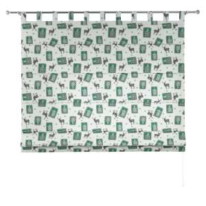 Verona tab top roman blind 80 x 170 cm (31.5 x 67 inch) in collection Nordic, fabric: 630-13