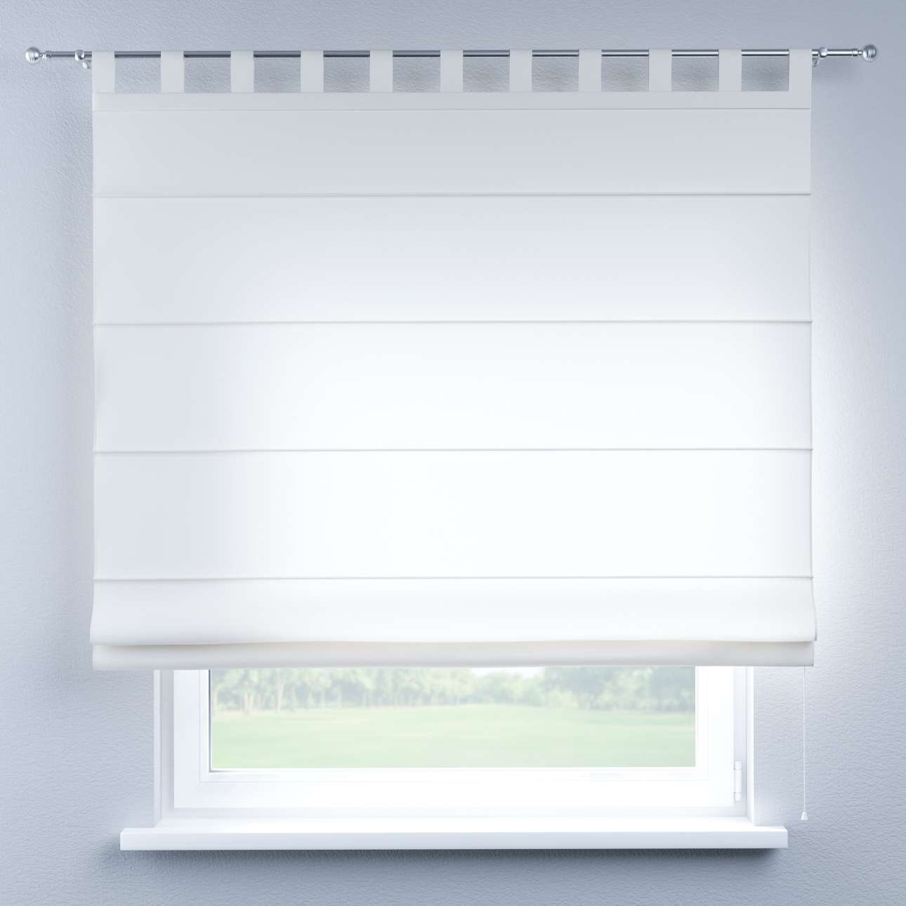 Verona tab top roman blind in collection Comics/Geometrical, fabric: 139-00
