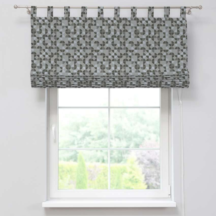 Verona tab top roman blind 80 x 170 cm (31.5 x 67 inch) in collection SALE, fabric: 138-20