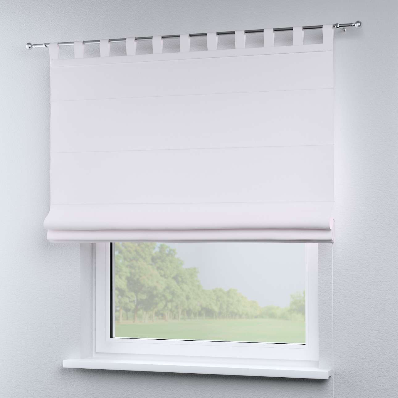 Liftgardin Verona<br/>Med stropper til gardinstang 80 × 170 cm fra kolleksjonen Cotton Panama, Stoffets bredde: 702-34
