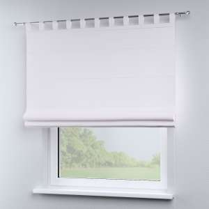 Verona tab top roman blind 80 x 170 cm (31.5 x 67 inch) in collection Cotton Panama, fabric: 702-34