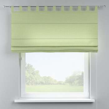 Verona tab top roman blind in collection Quadro, fabric: 136-33