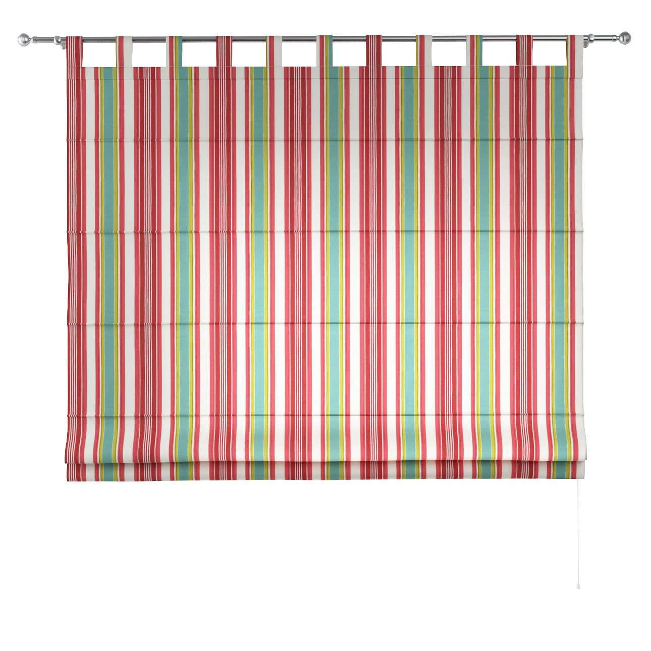 Verona tab top roman blind in collection Londres, fabric: 122-01