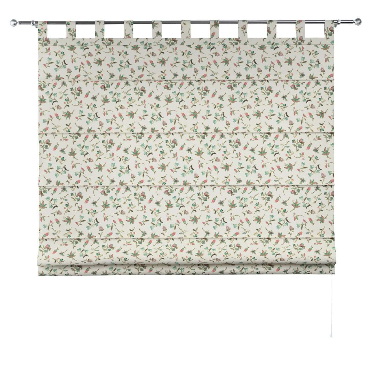 Verona tab top roman blind in collection Londres, fabric: 122-02