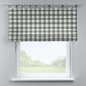 Verona tab top roman blind 80 x 170 cm (31.5 x 67 inch) in collection Quadro, fabric: 136-13