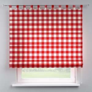 Verona tab top roman blind 80 x 170 cm (31.5 x 67 inch) in collection Quadro, fabric: 136-18