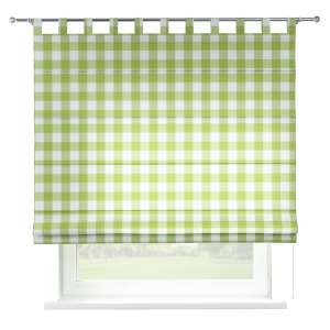 Verona tab top roman blind 80 x 170 cm (31.5 x 67 inch) in collection Quadro, fabric: 136-36