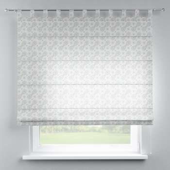Verona tab top roman blind in collection Flowers, fabric: 311-13