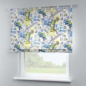 Verona tab top roman blind 80 x 170 cm (31.5 x 67 inch) in collection Freestyle, fabric: 135-08