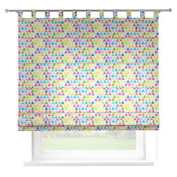 Verona tab top roman blind 80 x 170 cm (31.5 x 67 inch) in collection New Art, fabric: 140-27