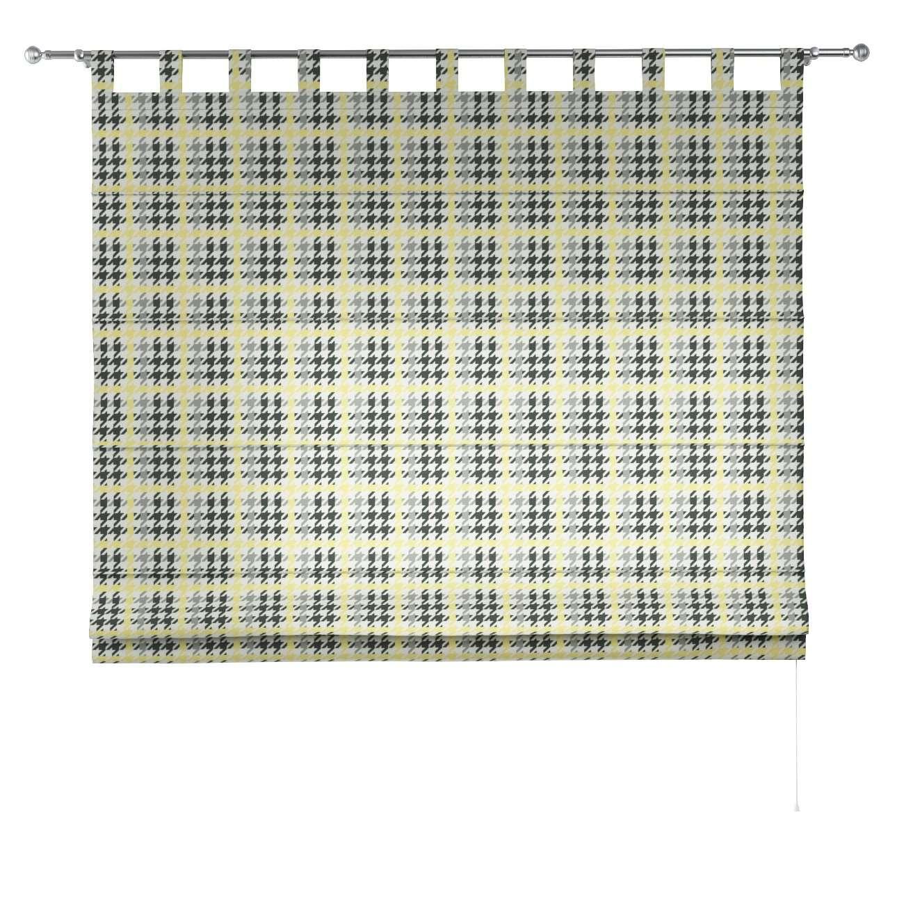 Verona tab top roman blind 80 x 170 cm (31.5 x 67 inch) in collection Brooklyn, fabric: 137-79