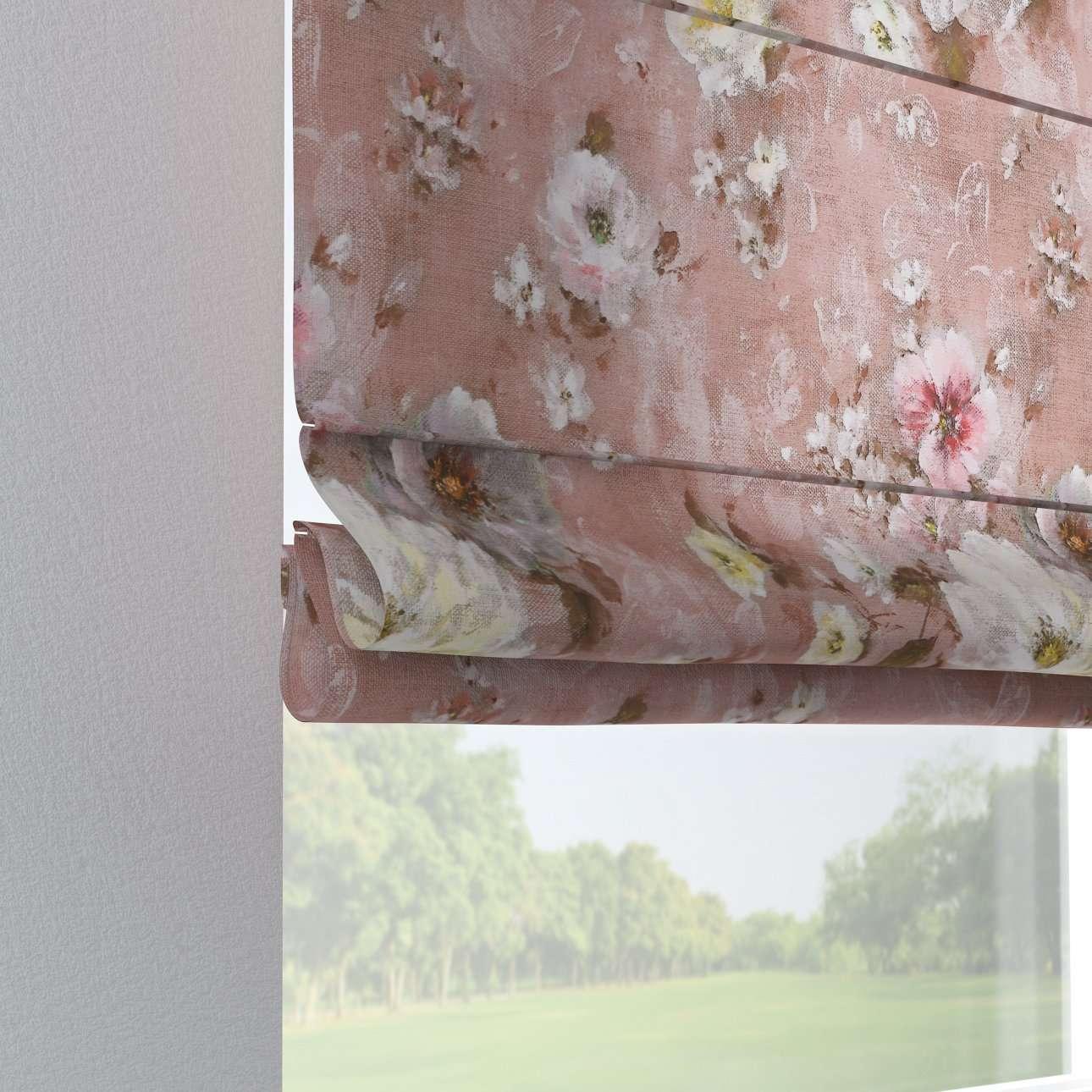 Foldegardin Verona<br/>Med stropper til gardinstang fra kollektionen Monet, Stof: 137-83