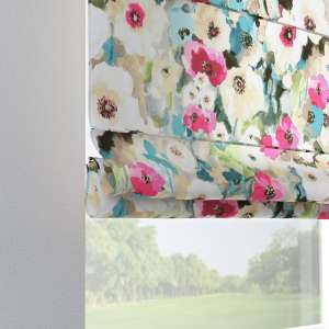 Verona tab top roman blind 80 x 170 cm (31.5 x 67 inch) in collection Monet, fabric: 140-08