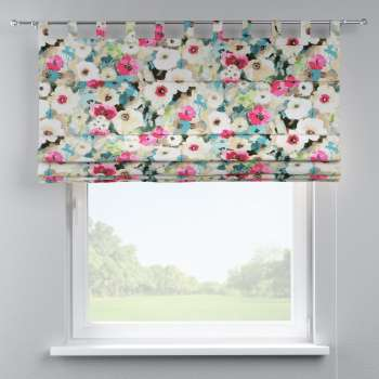 Verona tab top roman blind in collection Monet, fabric: 140-08