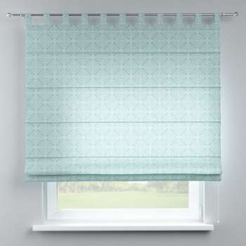 Verona tab top roman blind in collection Flowers, fabric: 140-37